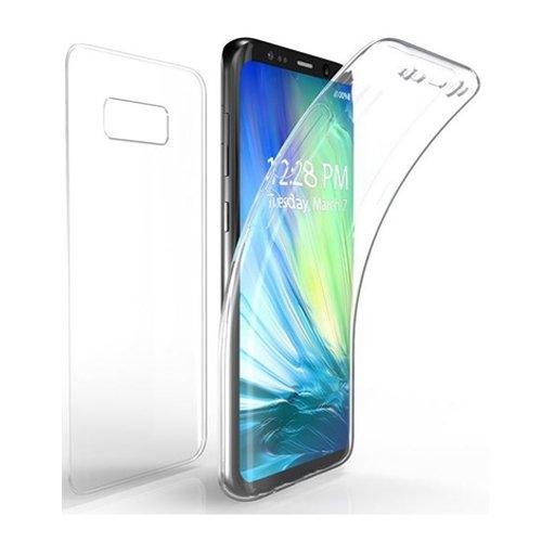 COPHONE Custodia per Samsung Galaxy S8 360°Full Body Cover Trasparente Silicone Case Molle di TPU Trasparente Sottile Protezione per Galaxy S8