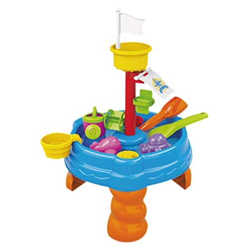 Hisoul Beach Water and Sand Toys Set for Kids - Child Summer Fun Water Table Watering Can & Spade & Water Table Toy Set, Best Interaction Gifts for Boys and Girls ( C)