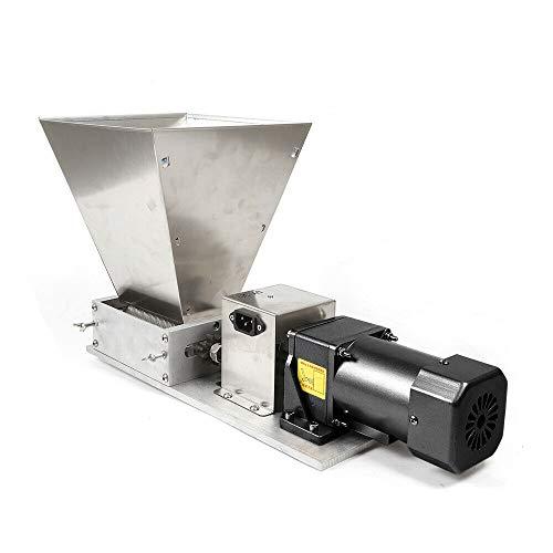 Elektrische Getreidemühle Schrotmühle, 4KG Grain Malzmühle Crusher Schleifer, Heimbrauer Malt Mill Brewers 6-10 kg/min Ausgaberate