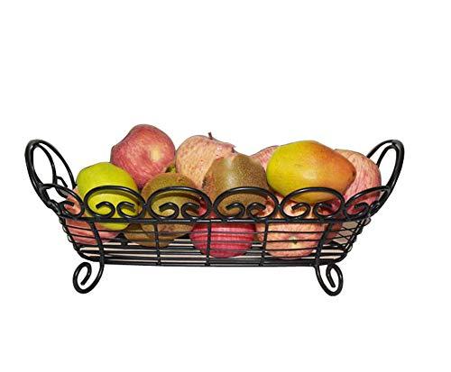YXST Corbeille De Fruits LéGumes PréSentoir De Stockage Bowl Kitchen Metal Party