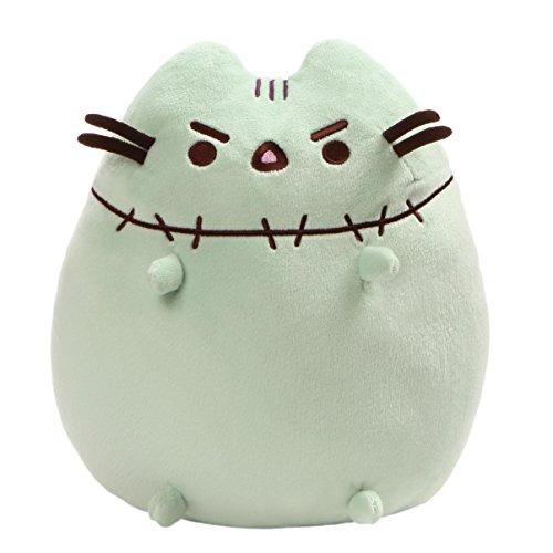 GUND Pusheen Zombie Halloween Cat Plush Stuffed Animal, Green, 9.5'