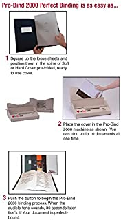 Pro-Bind 2000 Heavy Duty All metal thermal binding machine