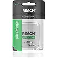 Reach Waxed Dental Floss Mint, 55 Yards