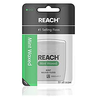 Johnson & Johnson Reach Interdental Adult Floss, Mint Waxed, 55 yds (B005IHMVZ2)   Amazon price tracker / tracking, Amazon price history charts, Amazon price watches, Amazon price drop alerts