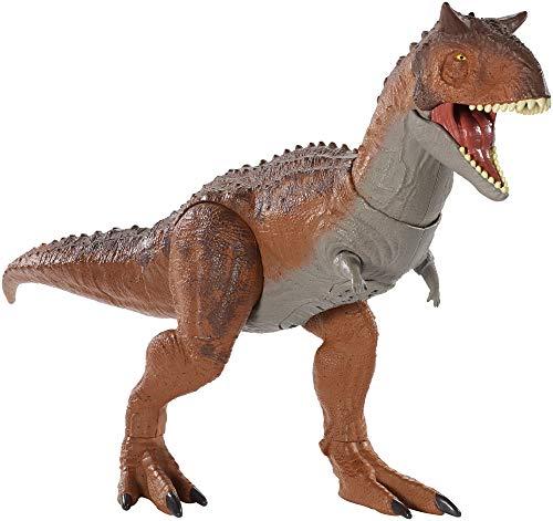 Jurassic World- Dinosauro Carnotauro Controlla e Distruggi Giocattolo per Bambini 4+ Anni, GJT59