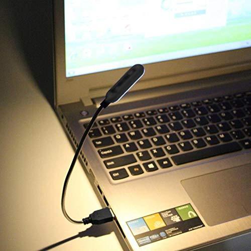 Lezen Licht 4 Led Mini Lezen Lamp USB Boek Licht Draagbare Flexibele Nachtlampje voor Studenten Laptop Notebook Computer Noodverlichting
