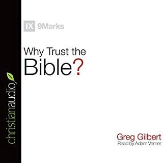 Why Trust the Bible? (9Marks) audiobook cover art