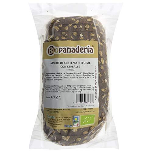 Biopanadería Pan de Molde Integral con Cereales Ecológico Elaborado con Masa Madre Natural (Centeno Integral)