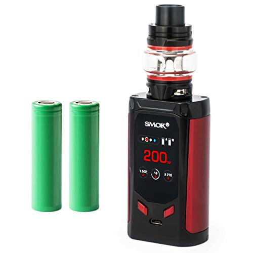 Smok R-Kiss Kit inkl. TFV8 Baby V2 (5 ml) 5000 mAh E-Zigarette E-Shisha Starterset (nikotinfrei) (schwarz)