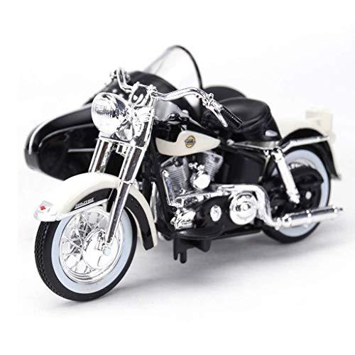 hongshen 1.18 Simulation Legierung Harley Side DREI Rad-Straddle-Motorrad-Modell, Alloy...