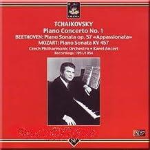 "Tchaikovsky - Piano Concerto No. 1 / Beethoven - Piano Sonata op. 57 ""Appassionata"" / Mozart - Piano Sonata KV 457 - Emil ..."