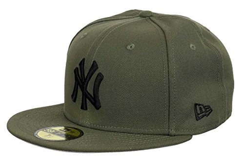 New Era New York Yankees 59fifty Basecap Olive Pack Olive/Black - 7 3/8-59cm