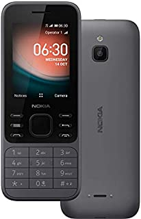 Nokia 6300 Dual SIM, 4GB, 512MB RAM, 4G LTE, Charcol