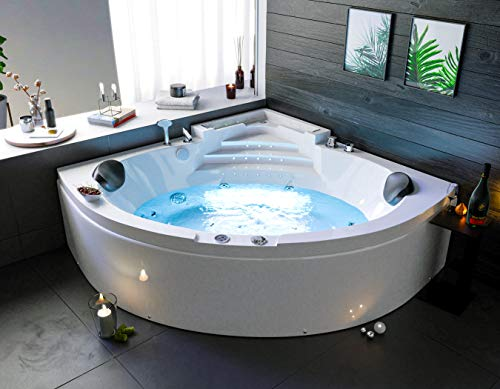 OimexGmbH Neuheit 2019 Eckwhirlpool Trend 150x150 Wassertreppe LED Armaturen Badewanne