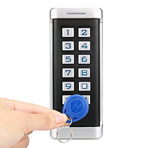 Retekess H1EM-W Access Control System,Door Access Keypad,RFID Outdoor Standalone Keypad,IP68 Waterproof,Wiegand 26-Bit,2000 Users,Single Door