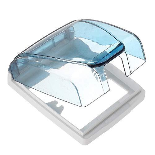 Conjuntos y componentes electrónicos DIY Interruptor TNC Longitud zócalo caja de herramientas de plástico a prueba de agua Splash caja de 12 cm de ancho 10 cm de alto 4cm interruptor Accesorios durade