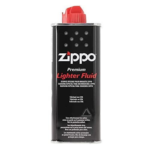 Zippo 3004, 1701001 Leggero Fluido 125 ml Unisex Adulto, Nero, 1-Pack