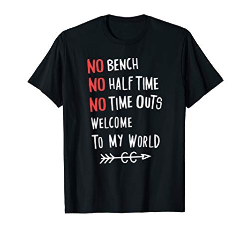 No Bench Half Time Outs Cross Country Runner Gift Tshirt T-Shirt