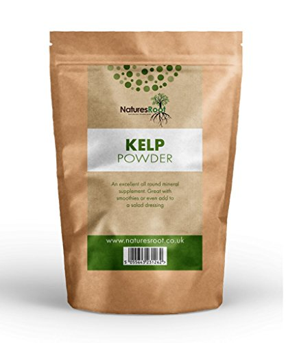 Kelp Powder 250g by Natures Root - Seaweed Supplement | Cellulite Remover | Body Wraps | Facial Mask | Scrubs | All Natural