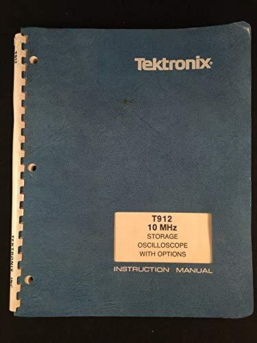 Tektronix T912 - Osciloscopio de Almacenamiento (10 MHz) con Manual de Instrucciones