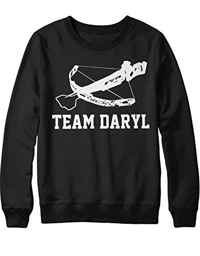 Sweatshirt TWD Team Daryl Arrow Armbrust C980040 Schwarz L