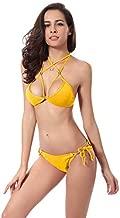 Swimmart Yellow Bikini Set For Women