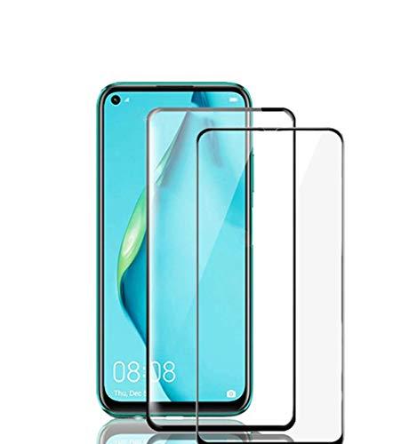 TingYR para iPhone 13 Pro MAX Cristal Templado, [Sin Burbujas] [Dureza 9H], Vidrio Templado HD Protector Pantalla para iPhone 13 Pro MAX.(2 Piezas Negro)