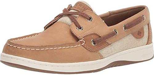 Sperry Women's, Bluefish 2-Eye Boat Shoe Natural Gold 7 M