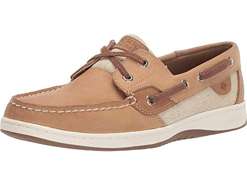 Sperry Women's, Bluefish 2-Eye Boat Shoe Natural Gold 5.5 M