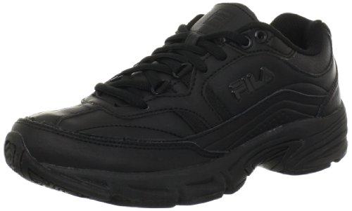 Fila Women's Memory Workshift Cross-Training Shoe,Black/Black/Black,7.5 M US