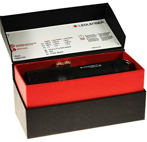 Led Lenser P7.2 - Linterna de bolsillo LED, 320 lúmenes de potencia,...