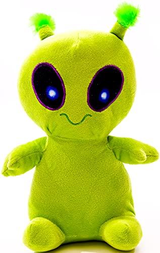 10' Jumbo Plush Green Alien Toy Creepy Plush Alien Figure Alien Plush Alien Pillow for Kids Alien Toys for Kids Animal Toys Alien Stuffed Animal for Kids by WGR