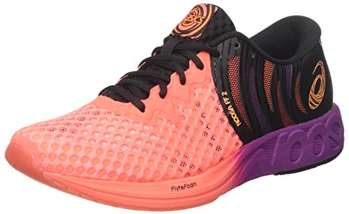 Asics Noosa Ff 2, Zapatillas de Running para Hombre, Naranja (Flash Coral/Shocking Orange/Black 0630), 44 EU