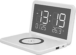 RSGK Elektronische eeuwigdurende bureaukalender, 6,7 inch groot scherm, Qi Smart draadloos opladen, tien beschermingen, 1...