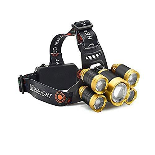 Cooolla Linterna Frontal LED Recargable