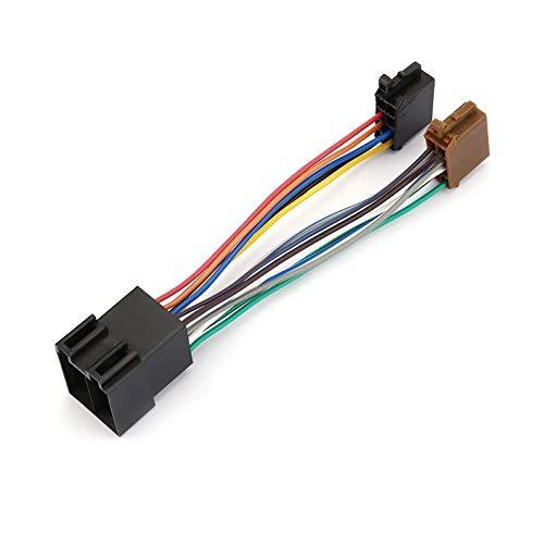 Cablaggio audio stereo dell'automobile di apparenze con adattatore di iso per Peugeot 106 206 306 307 405 406