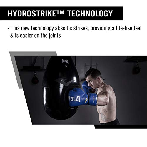Everlast HydroStrike Water Bag, 100 lb, Black, P00000657