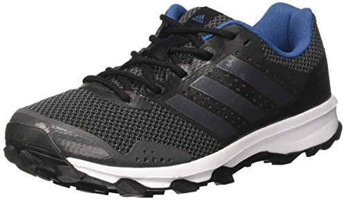 adidas Duramo 7 Trail M, Scarpe da Corsa Uomo, Nero (Utility Black/Utility Black/Core Black), 40 2/3 EU