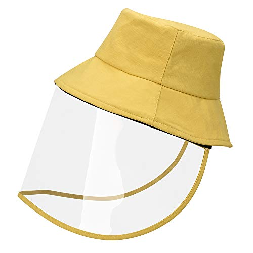 Sun Hats Beach Wide Brim Unisex Summer Hats Yellow