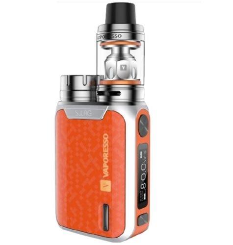 Vaporesso Swag (Naranja) 80W TC Kit con NRG SE Mini Tanque 2ml, Este producto no contiene nicotina ni tabaco