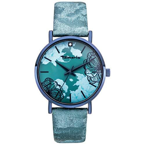 Tamaris Damen-Uhr Dora TW303 grün
