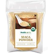 Healthworks Maca Powder Raw (32 Ounces / 2 Pounds) | Certified Organic Flour Use | Keto, Vegan & Non-GMO | Premium Peruvian Origin | Breakfast, Smoothies, Baking & Coffee