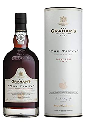 Graham's The Tawny Mature Reserve Tawny Port with Gift Tube, 75 cl