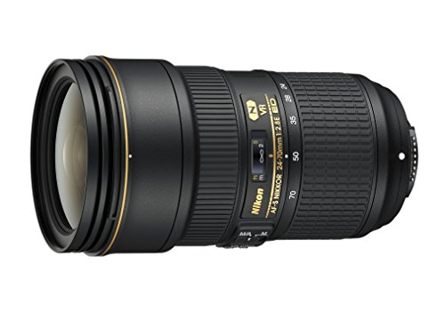 Nikon AF-S FX NIKKOR 24-70mm f/2.8E ED Vibration Reduction Zoom Lens with Auto Focus for Nikon...