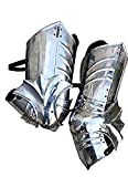 Gothic Plate Greaves Steel Medieval Leg Armor