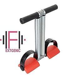 EXTGENIC ® Multi Colour Double Spring Tummy Trimmer Ab Exerciser Multipurpose Fitness Equipment for Men and Women
