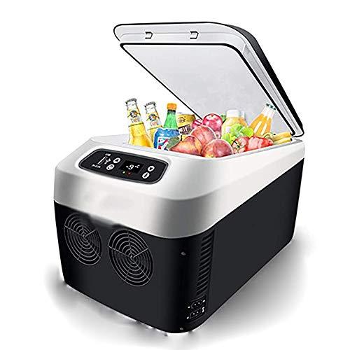 unknow LLMOZ Autokühlschrank, Kompressor tragbare kleine Gefriertruhe Bier Getränke Kühlschrank großer Raum geeignet für Innen- und Außenreise Picknick (24l)