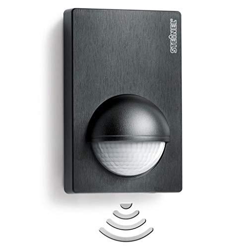 vidaXL Steinel Detector de Movimiento Infrarrojo IS 180-2 Negro