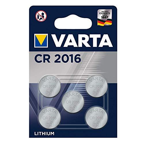5 x Varta CR2016 Lithium CR 2016...