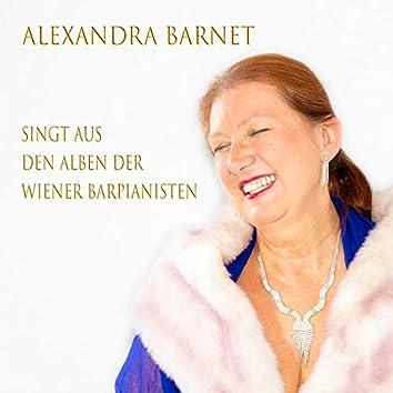 Alexandra Barnet singt aus den Alben der Wiener Barpianisten